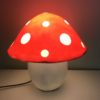 Red Toadstool Lamp