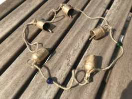 Brass Bell String - 5 bells