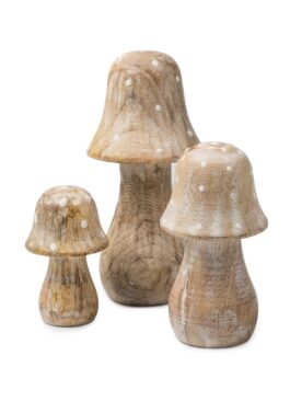 Set Of 3 Mushrooms